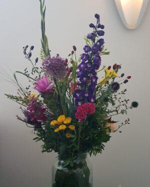 Kleurexplosie met seizoensbloemen